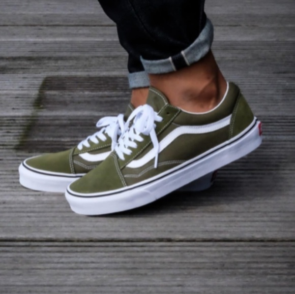 Vans Old Skool Olive Green Women's Size 6